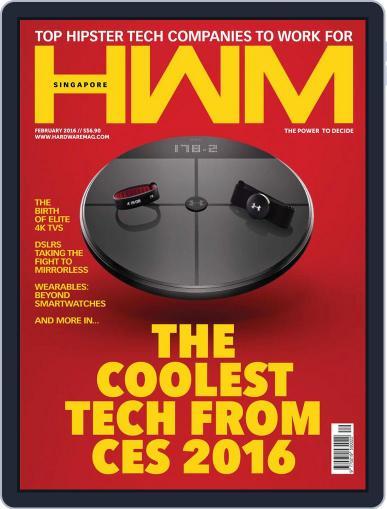 HWM Singapore (Digital) February 1st, 2016 Issue Cover