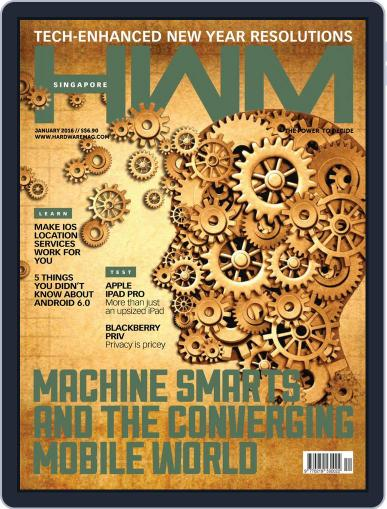 HWM Singapore (Digital) January 1st, 2016 Issue Cover