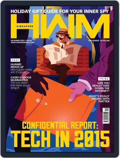HWM Singapore (Digital) December 1st, 2015 Issue Cover