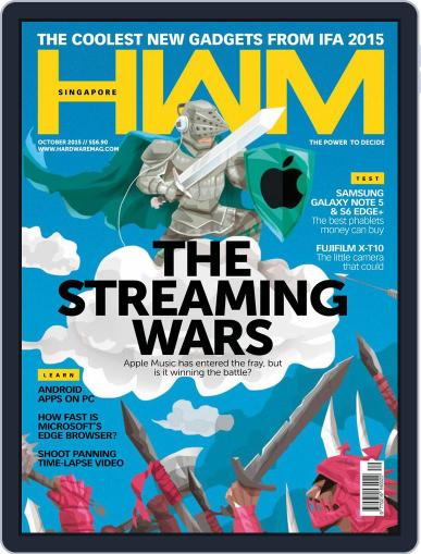 HWM Singapore (Digital) October 1st, 2015 Issue Cover