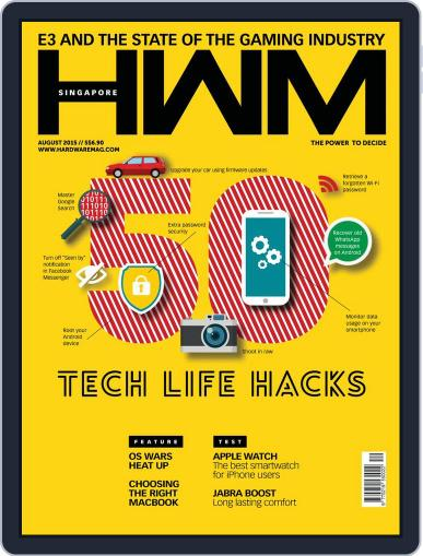 HWM Singapore (Digital) August 1st, 2015 Issue Cover