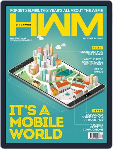 HWM Singapore (Digital) March 30th, 2015 Issue Cover