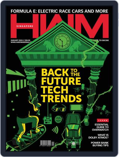 HWM Singapore (Digital) January 1st, 2015 Issue Cover
