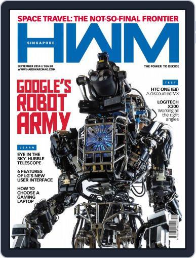 HWM Singapore September 4th, 2014 Digital Back Issue Cover