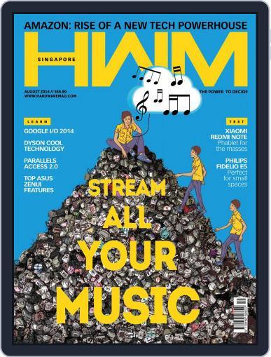 HWM Singapore (Digital) August 4th, 2014 Issue Cover