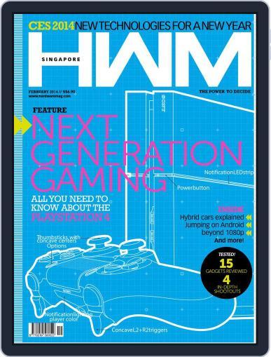 HWM Singapore (Digital) February 4th, 2014 Issue Cover