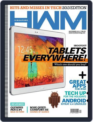 HWM Singapore December 3rd, 2013 Digital Back Issue Cover