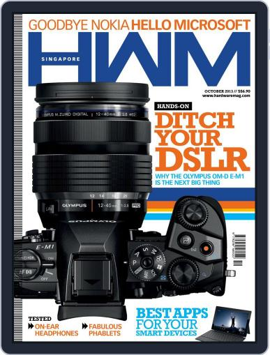 HWM Singapore (Digital) October 1st, 2013 Issue Cover