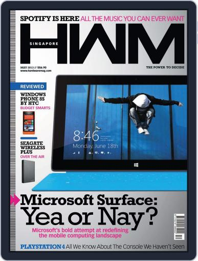 HWM Singapore May 2nd, 2013 Digital Back Issue Cover