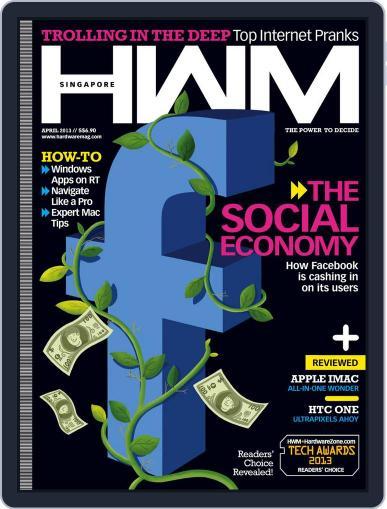 HWM Singapore (Digital) April 5th, 2013 Issue Cover