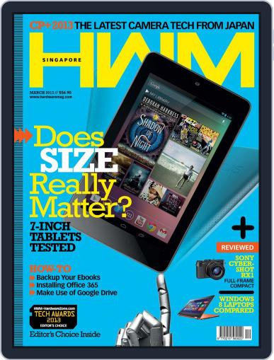 HWM Singapore (Digital) March 6th, 2013 Issue Cover