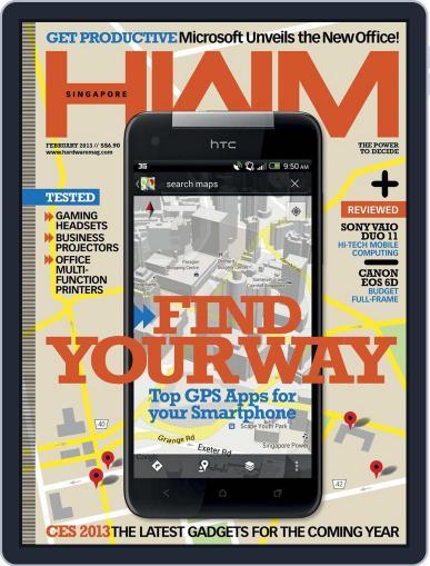 HWM Singapore (Digital) February 6th, 2013 Issue Cover