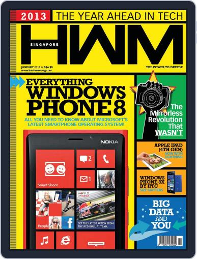 HWM Singapore (Digital) January 4th, 2013 Issue Cover