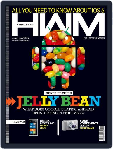 HWM Singapore August 2nd, 2012 Digital Back Issue Cover