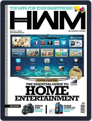 HWM Singapore July 2nd, 2012 Digital Back Issue Cover