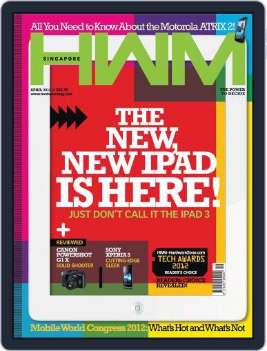 HWM Singapore (Digital) April 3rd, 2012 Issue Cover