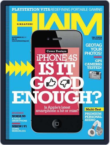 HWM Singapore (Digital) November 11th, 2011 Issue Cover