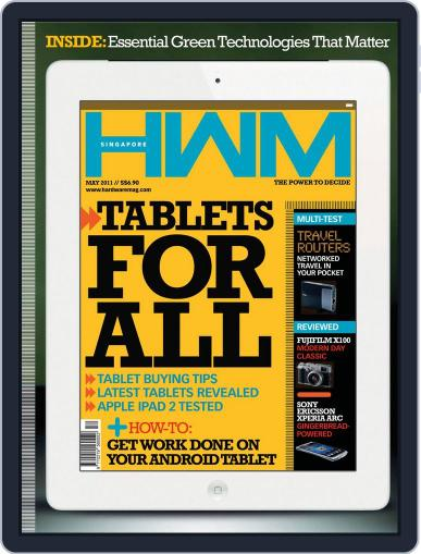 HWM Singapore (Digital) May 6th, 2011 Issue Cover