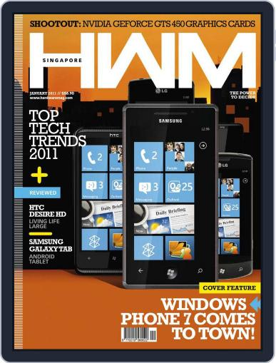 HWM Singapore January 4th, 2011 Digital Back Issue Cover