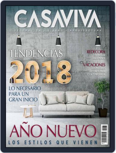 Casaviva México (Digital) January 11th, 2018 Issue Cover