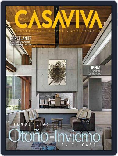 Casaviva México (Digital) October 1st, 2017 Issue Cover