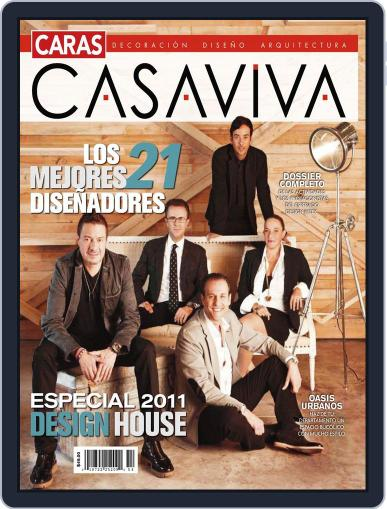 Casaviva México (Digital) October 7th, 2011 Issue Cover