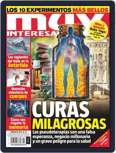 Muy Interesante México (Digital) February 1st, 2019 Issue Cover