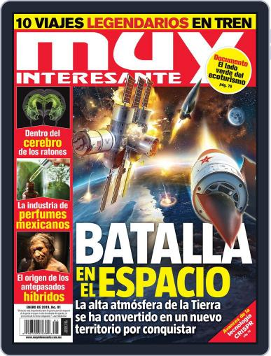 Muy Interesante México January 1st, 2019 Digital Back Issue Cover