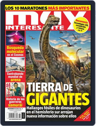 Muy Interesante México (Digital) November 1st, 2018 Issue Cover