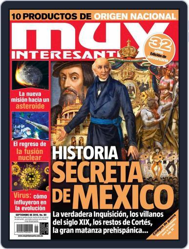 Muy Interesante México (Digital) September 1st, 2016 Issue Cover