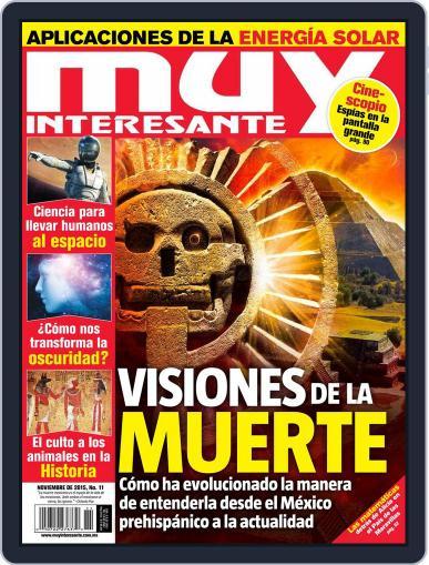 Muy Interesante México (Digital) October 27th, 2015 Issue Cover