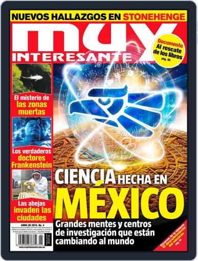 Muy Interesante México (Digital) March 27th, 2015 Issue Cover
