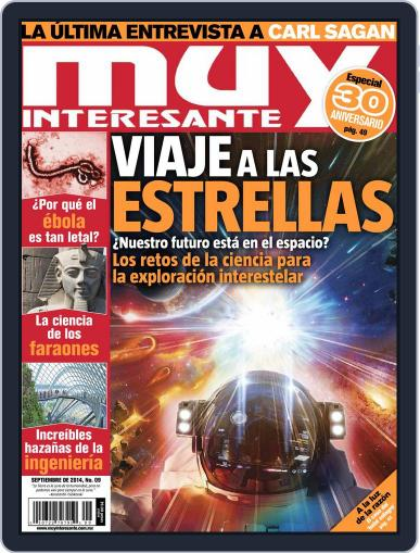 Muy Interesante México (Digital) August 27th, 2014 Issue Cover