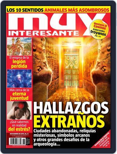 Muy Interesante México (Digital) October 27th, 2013 Issue Cover