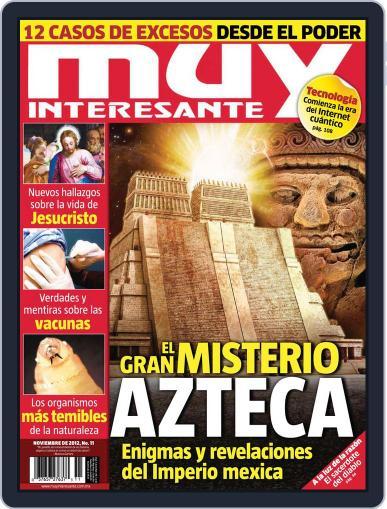 Muy Interesante México (Digital) October 24th, 2012 Issue Cover