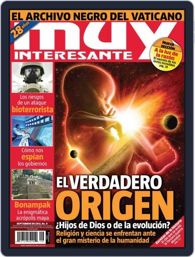 Muy Interesante México (Digital) August 26th, 2012 Issue Cover