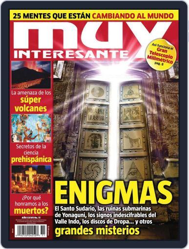 Muy Interesante México (Digital) October 29th, 2010 Issue Cover