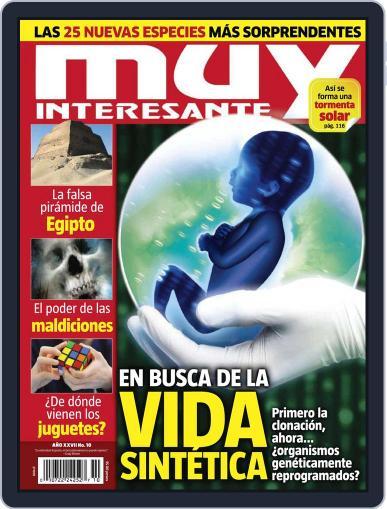Muy Interesante México (Digital) September 26th, 2010 Issue Cover
