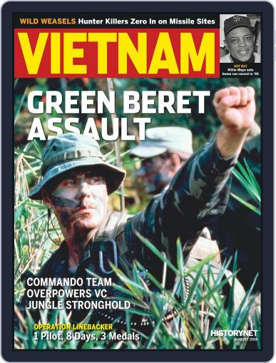 Vietnam August 1st, 2015 Digital Back Issue Cover