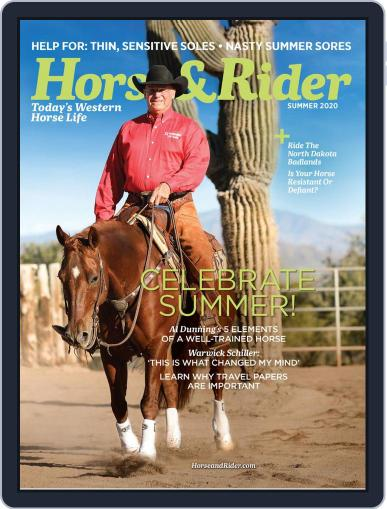 Horse & Rider May 11th, 2020 Digital Back Issue Cover
