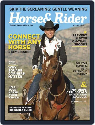Horse & Rider (Digital) August 1st, 2018 Issue Cover