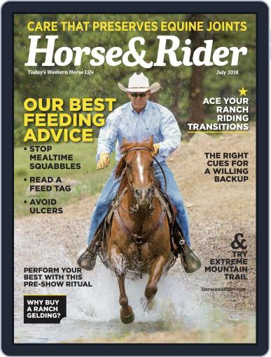 Horse & Rider (Digital) July 1st, 2018 Issue Cover