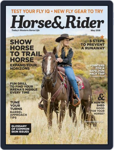 Horse & Rider May 1st, 2018 Digital Back Issue Cover