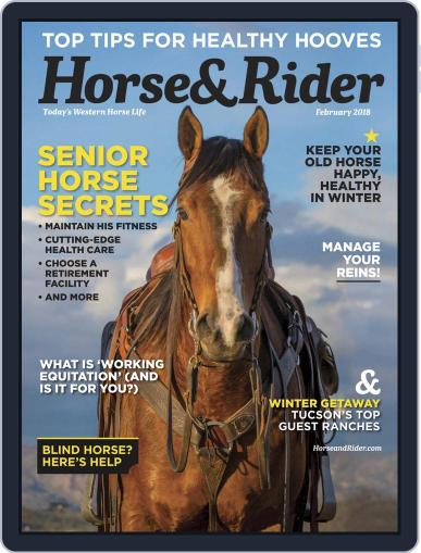 Horse & Rider (Digital) February 1st, 2018 Issue Cover