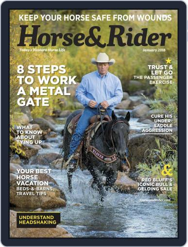 Horse & Rider (Digital) January 1st, 2018 Issue Cover