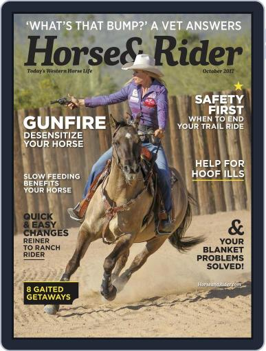 Horse & Rider (Digital) October 1st, 2017 Issue Cover