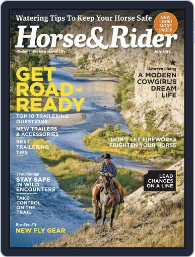 Horse & Rider (Digital) July 1st, 2017 Issue Cover