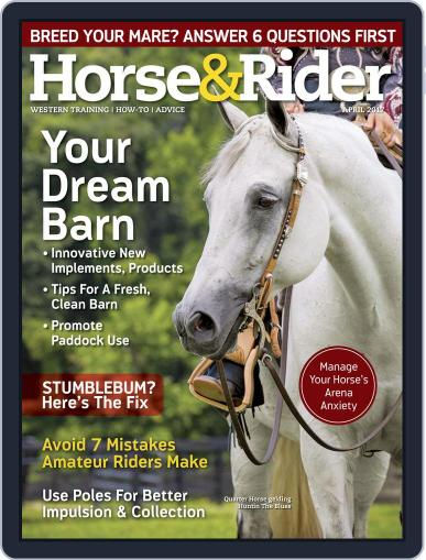 Horse & Rider (Digital) April 1st, 2017 Issue Cover