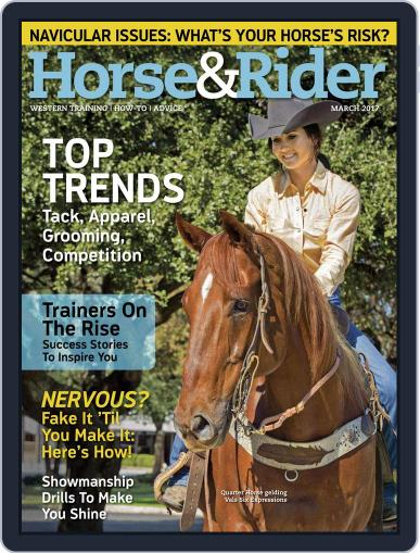 Horse & Rider March 1st, 2017 Digital Back Issue Cover