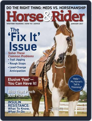 Horse & Rider (Digital) January 1st, 2017 Issue Cover